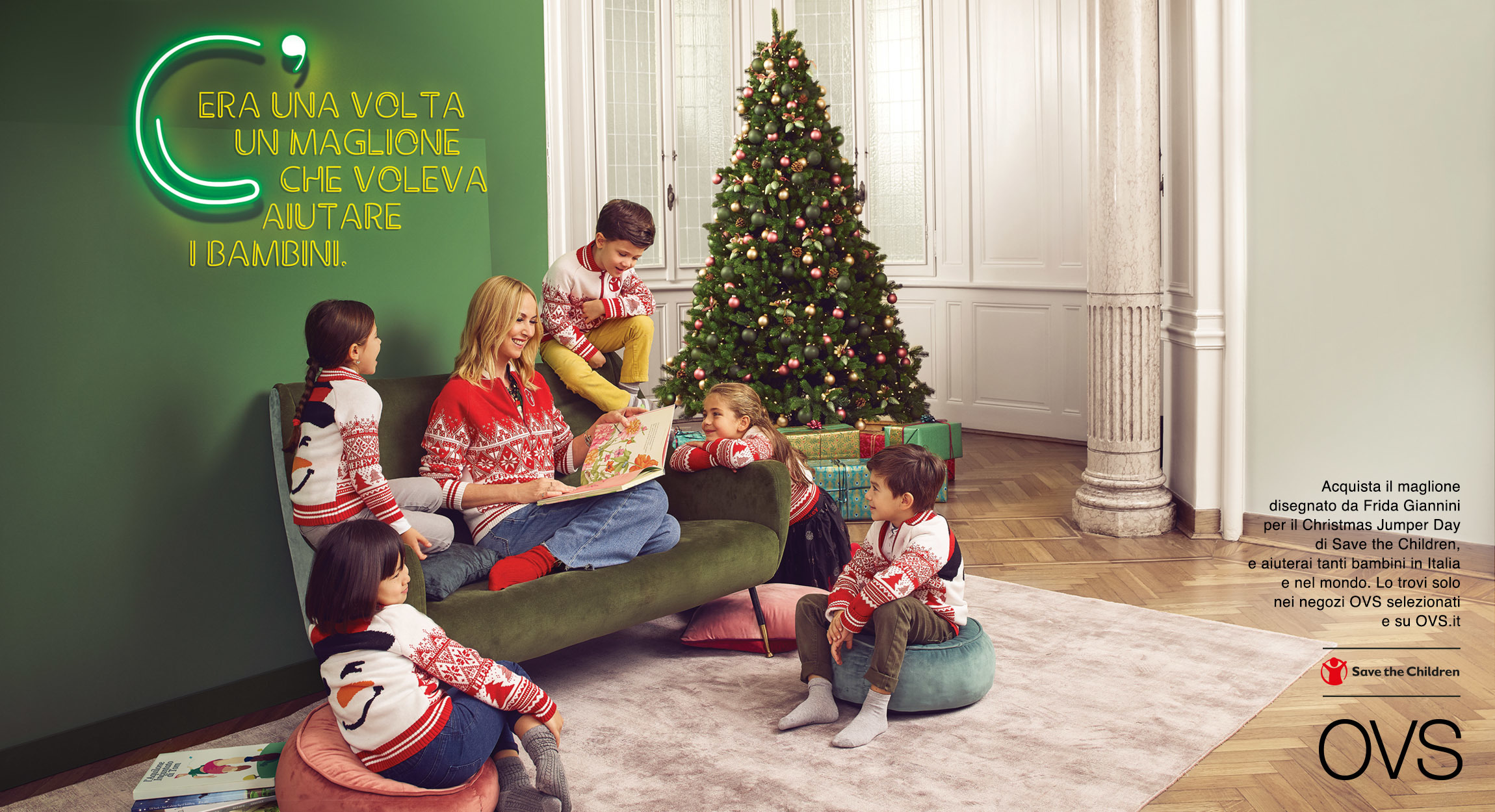 Frida Giannini for OVS & Save the Children | Lateral